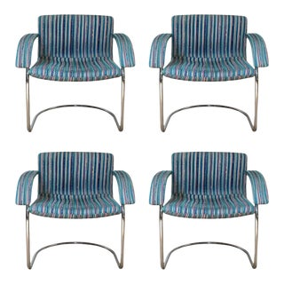 Mid-Century Chairs by Saporiti Italia- Set of 4 For Sale