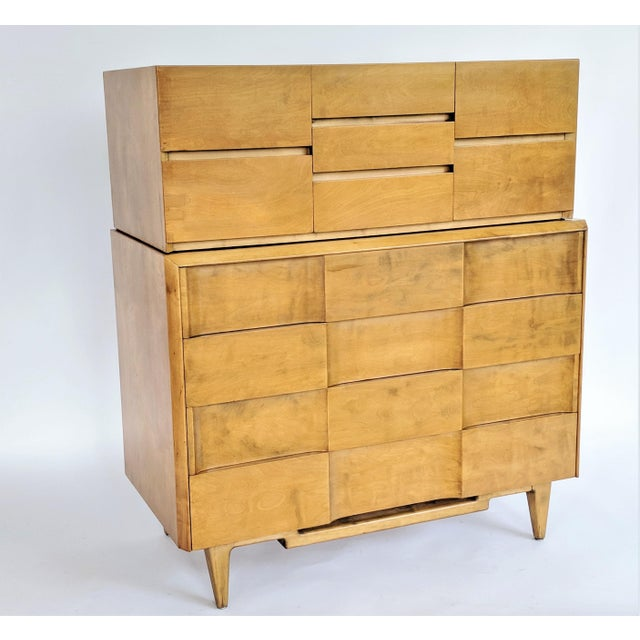 Wood Edmond Spence Cabinet in Maple For Sale - Image 7 of 8