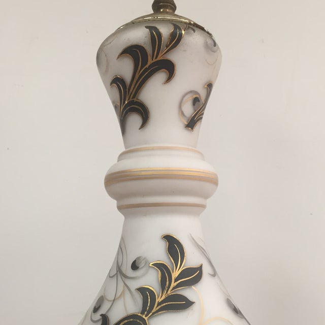 Hand Painted Table Lamp - Image 5 of 11