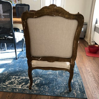1920s Vintage French Oversized Sitting Chair Preview