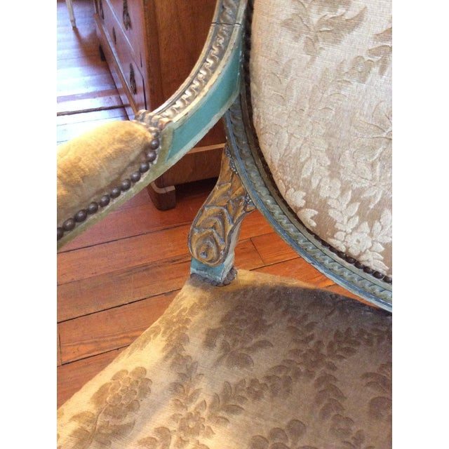 Pair of Louis XVI Fauteuils For Sale In New Orleans - Image 6 of 11
