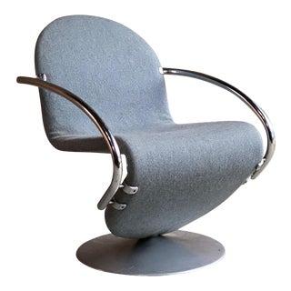 Verner Panton System 1 23 Easy Chair for Fritz Hansen, Denmark, circa 1974 For Sale