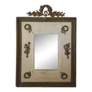 1920s French Classical Ormolu Frame For Sale