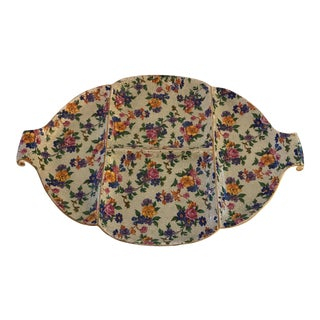 Chintz Warwick Divided Dish For Sale