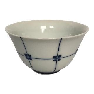 Small Blue & White Porcelain Bowl