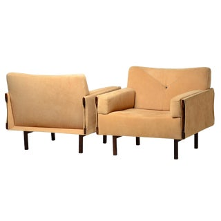 Jorge Zalszupin Ina Chairs Brazilian Mid Century Modern For Sale