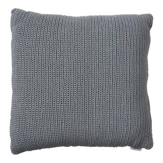 Cane-Line Divine Square Scatter Cushion, Gray For Sale