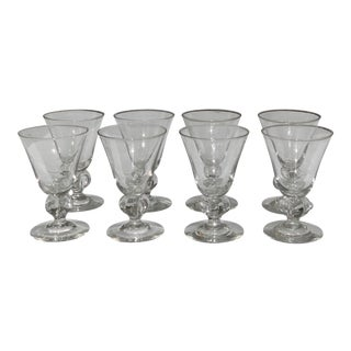 Mid-Century Wine Glasses - Set of 8 For Sale