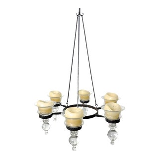 1960s Scandinavian Modern Bertil Vallien Hanging Candelabra Chandelier For Sale