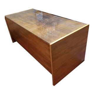 Mid Century Vintage Jens Risom Executive Desk For Sale