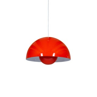 Verner Panton Big Flower Pot Lamps For Sale