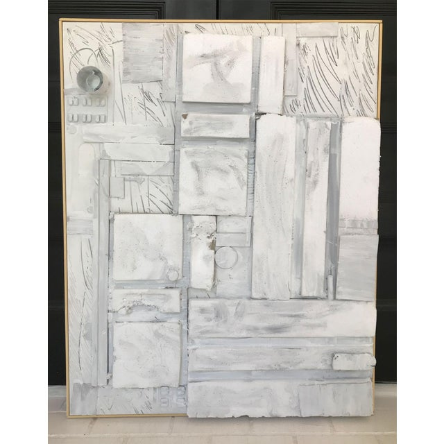 Large Contemporary Mixed Media Painting VII by William McLure For Sale - Image 4 of 9