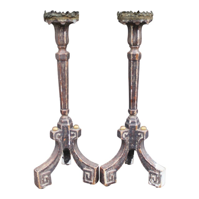 Pair of Candle Stands - Image 1 of 7