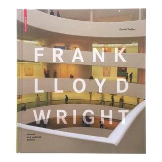 Frank Lloyd Wright Organic Modernism Architecture Hardcover Design Survey Book For Sale