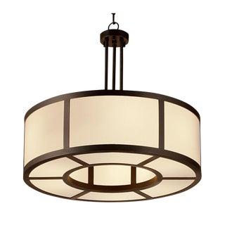 """Ailsa Bronze Pendant Light (23.6"""") For Sale"""