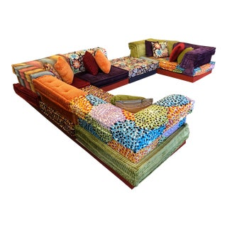 Missoni Mah Jong Sectional by Roche Bobois For Sale