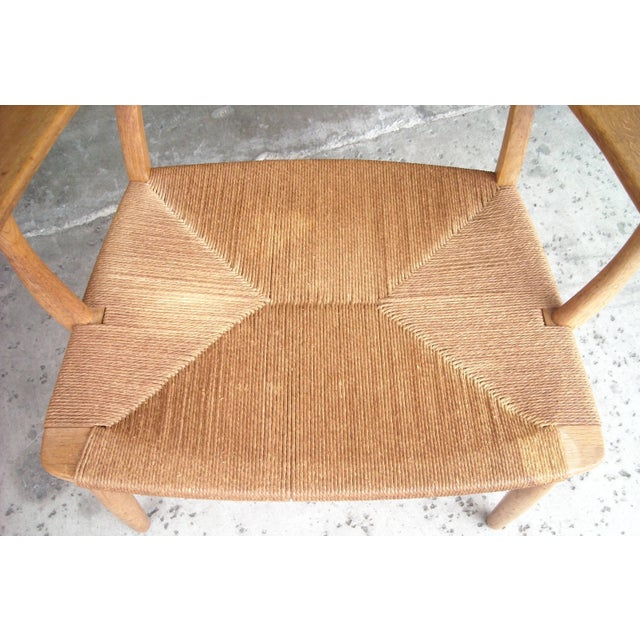 Carl Hansen & Søn 1950s VintageCarl Hansen for Hans Wegner Ch22 Armchair For Sale - Image 4 of 7