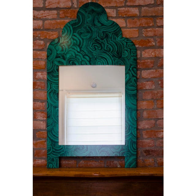 Green Malachite Wall Mirror For Sale - Image 13 of 13
