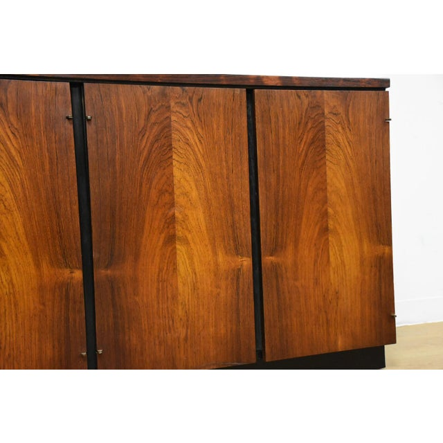 Rosewood Modern Credenza For Sale - Image 9 of 10
