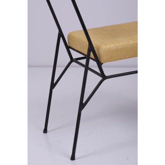 Set of 4 Wrought Iron Chairs by Paul McCobb for Arbuck, 1950s, Us For Sale - Image 9 of 11