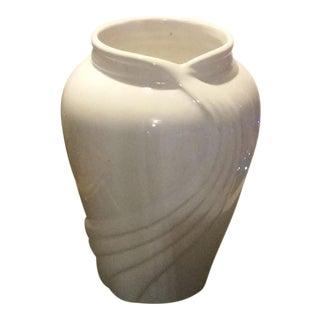 Vintage White Porcelain Vase