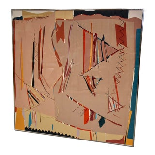 Sally Anderson Large Abstract Painting For Sale