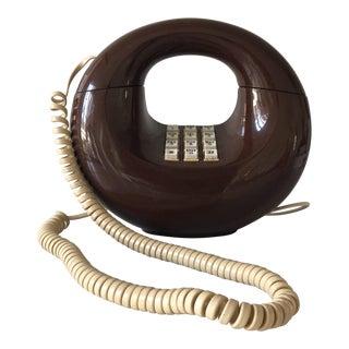 Vintage Retro Brown Phone