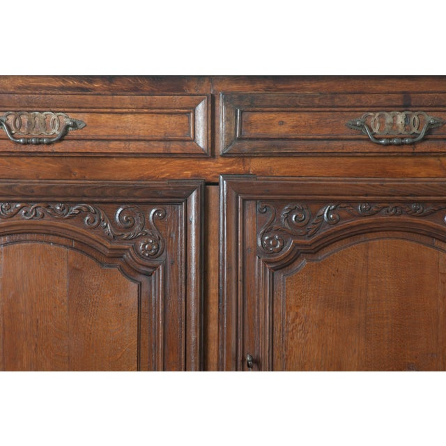 French 19th Century Oak Enfilade For Sale - Image 9 of 10