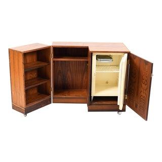 1960s Mid-Century Modern Torbjørn Afdal Rare Rosewood Cellarette For Sale