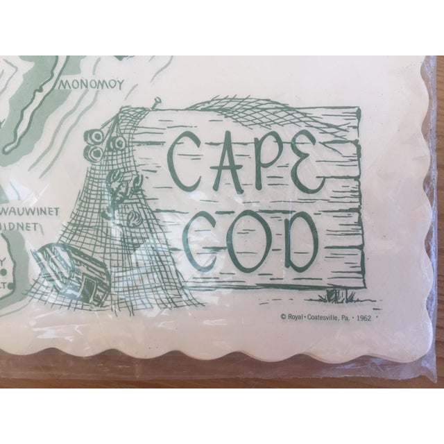 Paper Placemats Cape Cod - Set of 36 For Sale - Image 4 of 7