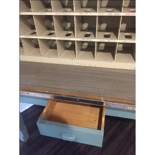 Vintage Postal Cabinet - Image 3 of 11
