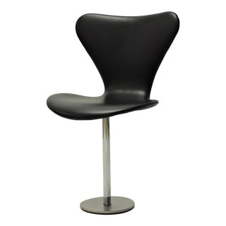 Mid-Century Modern Danish Arne Jacobsen Butterfly Auditorium Chairs by Fritz Hansen For Sale
