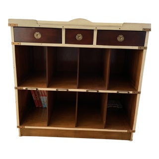 Authentic Models French Low Bookcase For Sale