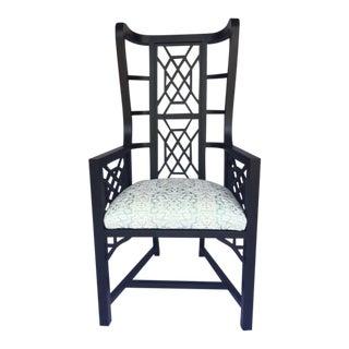 Upholstered Kings Grant Chair