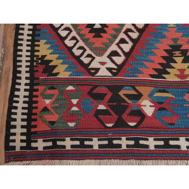 Antique Fethiye Kilim For Sale - Image 4 of 8
