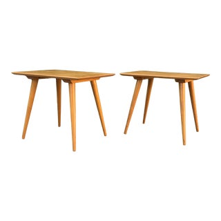 Mid-Century Modern Paul McCobb Maple End Tables - a Pair For Sale