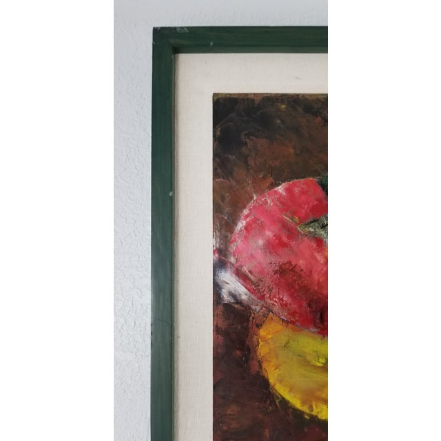 Abstract Painting by Lourdes, Still Life With Fruit For Sale In Miami - Image 6 of 10