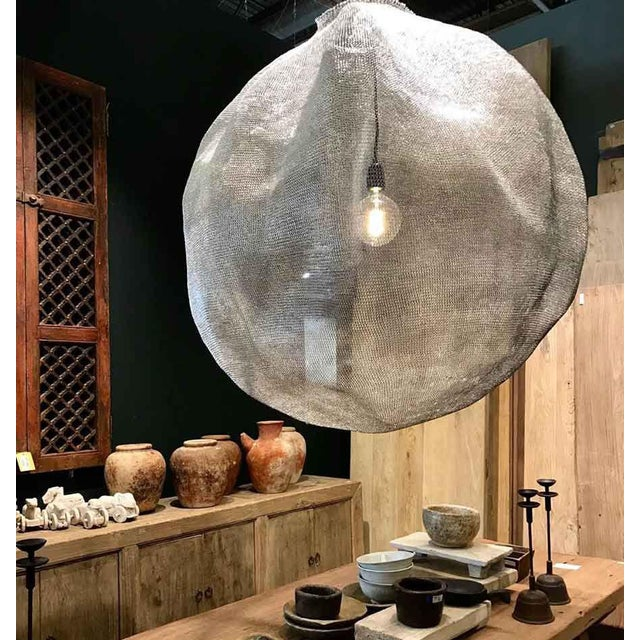 Modern Kute Sphere Light by Atmosphere d'Ailleurs For Sale - Image 3 of 9