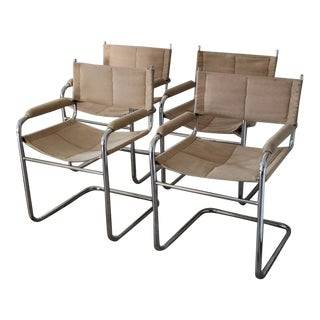 Vintage Milo Baughman Dining Chairs - Set of 4