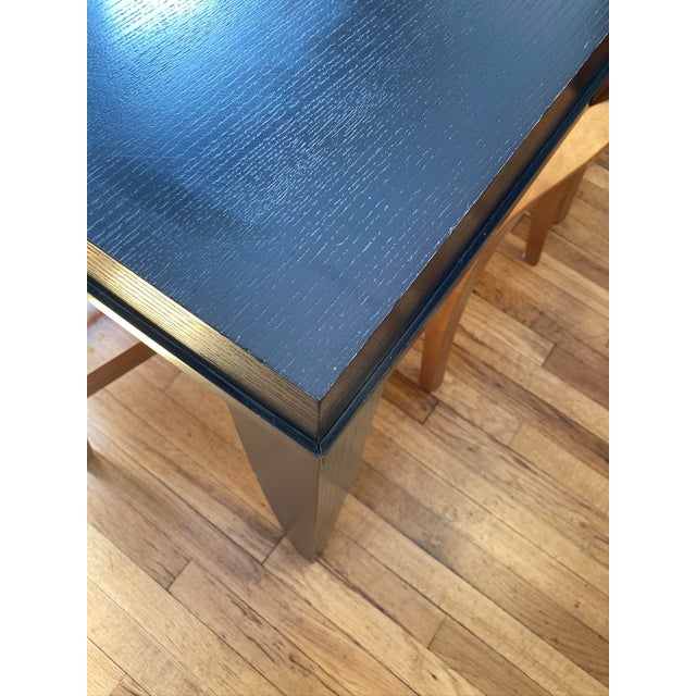 """Crate & Barrel Crate and Barrel """"Portland"""" Dining Table For Sale - Image 4 of 8"""