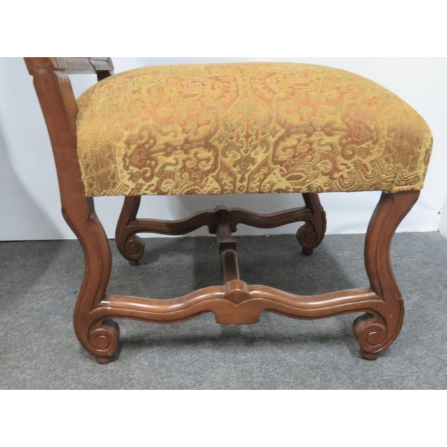 Rococo Style Italmond Furniture Co Dining Chairs - Set of 10 For Sale In Philadelphia - Image 6 of 12
