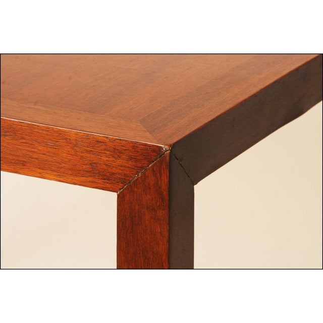Lane Mid-Century Danish Modern Parsons Coffee Table - Image 9 of 11