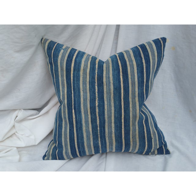 Mali Striped Tribal Pillow - Image 2 of 5