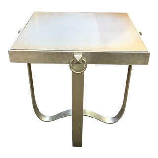 Contemporary Fusion Side Table For Sale