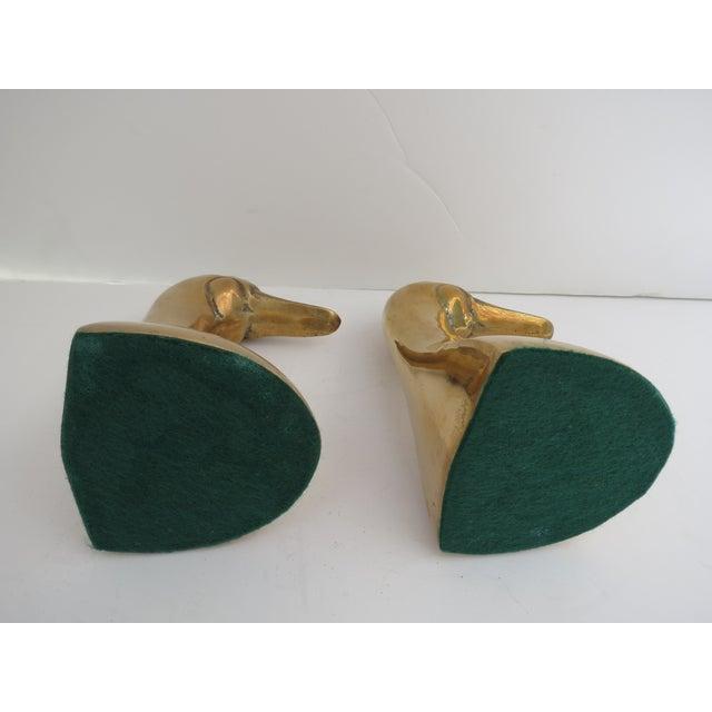 Brass Mallard Bookends - A Pair - Image 5 of 6