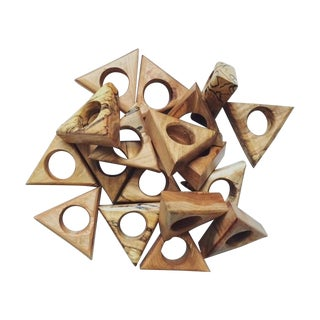 Triangle Napkin Holders - Set of 4 For Sale