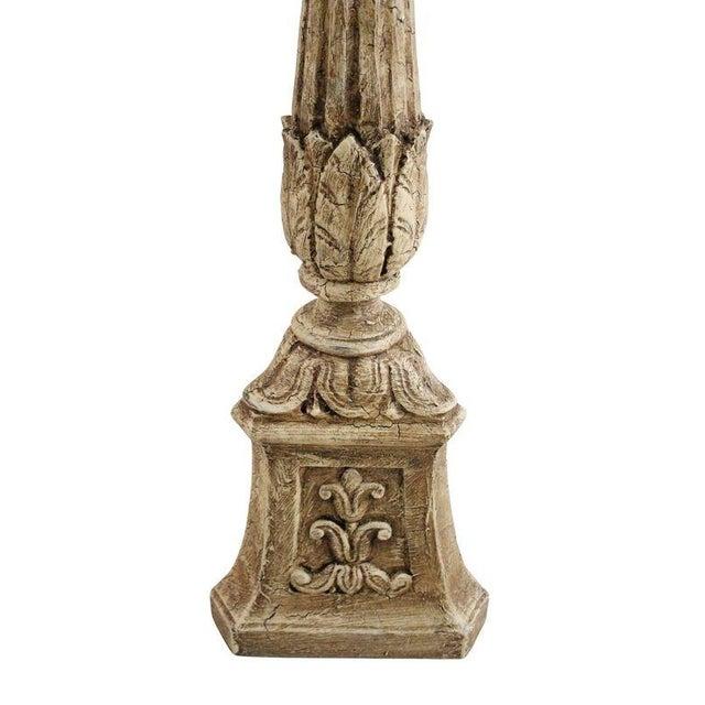 Plaster Carved Pedestal - Image 3 of 4