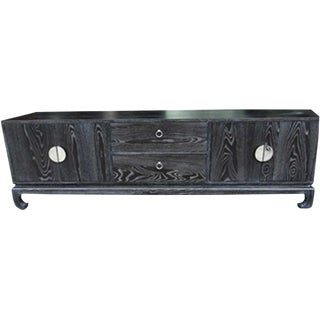 Chinese Ashwood Entertainment Console For Sale