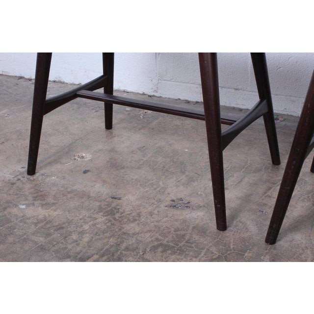 Pair of Ap-30 Piano Stools by Hans Wegner For Sale - Image 10 of 13