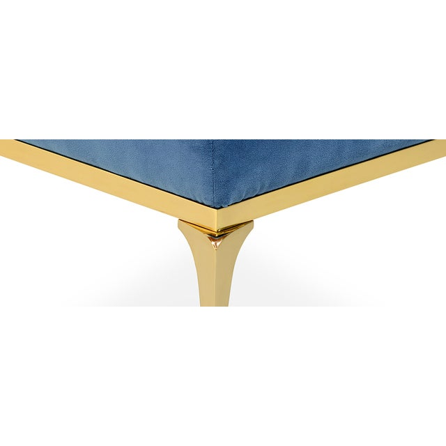 Gold Rita Stool From Covet Paris For Sale - Image 8 of 13